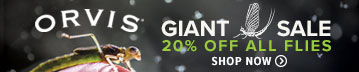Giant Sale 20% Off All Flies